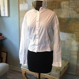 White Tailored Blouse